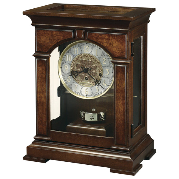 "Table Clock - Howard Miller Emporia 17"" Mantel Clock"