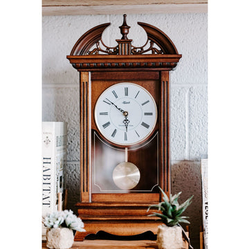 "Hermle Hamilton 20"" Traditional Bracket Clock"