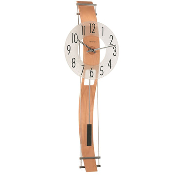 "Hermle Kennington 32"" Quartz Pendulum Wall Clock"