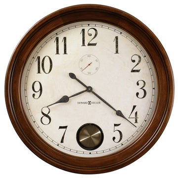 "Howard Miller Auburn 32.5"" Wall Clock"