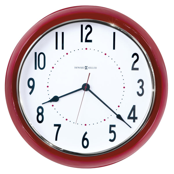 "Wall Clock - Howard Miller Crimson Hall 22"" Wall Clock"