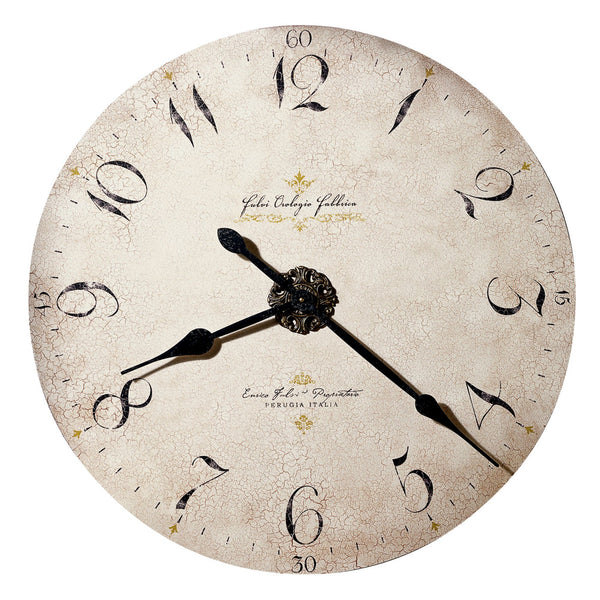"Wall Clock - Howard Miller Enrico Fulvi 32"" Wall Clock"