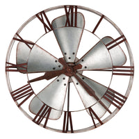 "Wall Clock - Howard Miller Mill Shop Gallery 31.5"" Wall Clock"