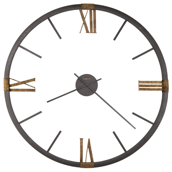 "Wall Clock - Howard Miller Prospect Park 60"" Oversized Wall Clock"