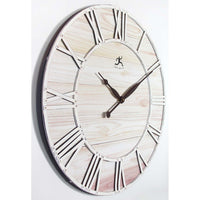 "Wall Clock - Infinity Instruments Farmhouse Fusion 27.5"" Wall Clock"