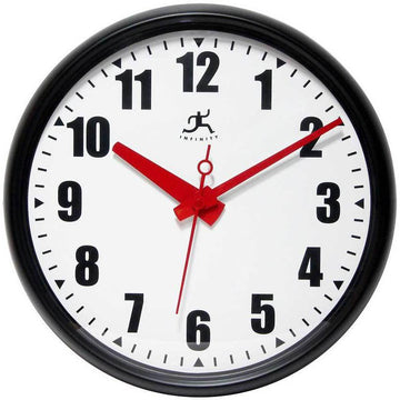"Infinity Instruments Impact 15"" Office Wall Clock"