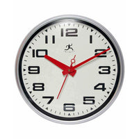 "Wall Clock - Infinity Instruments Lexington Avenue 15"" Wall Clock"