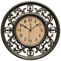 "Infinity Instruments Sofia 12"" Traditional Wall Clock"