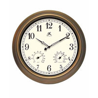 "Wall Clock - Infinity Instruments The Craftsman 18"" Indoor/Outdoor Wall Clock"