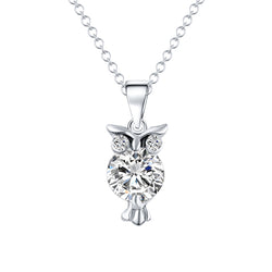 Lovely Owl Pendants Women's Necklaces