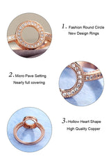 Round Finger Rings For Women
