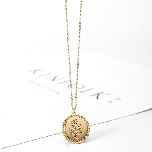 High Quality Round Pendant Necklace