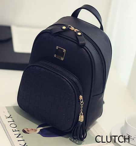 Stylish Leather Backpack