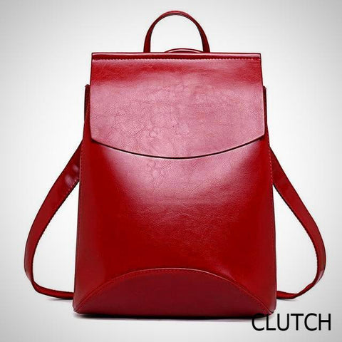 Maya Leather Backpack