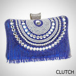 Cassidy Beaded Clutch