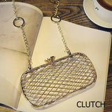 Metal Cage Party Clutch