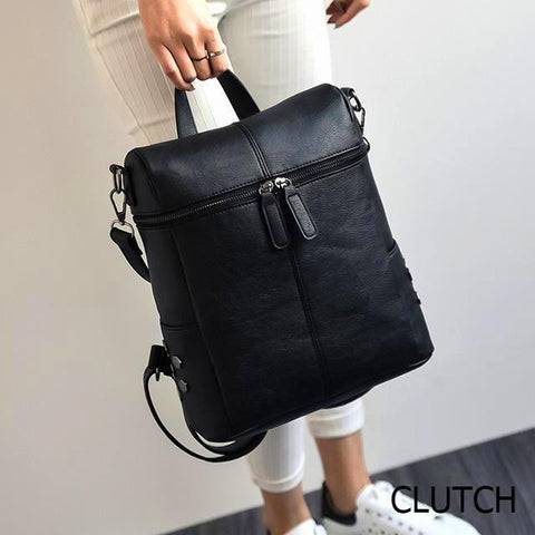 Deborah Leather Backpack