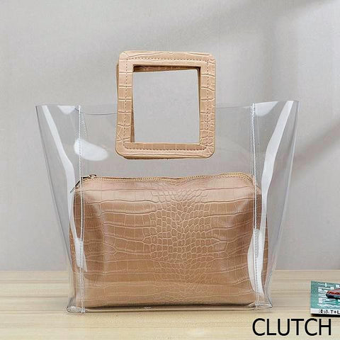 Vivian Clear Satchel