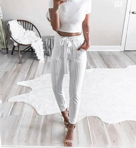 Ava Striped Pants