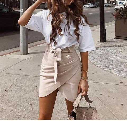 Savannah Suede Skirt