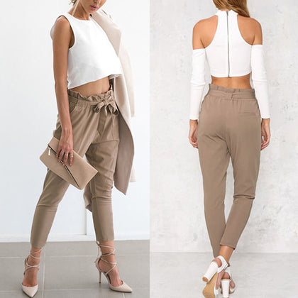 Ava Solid Pants