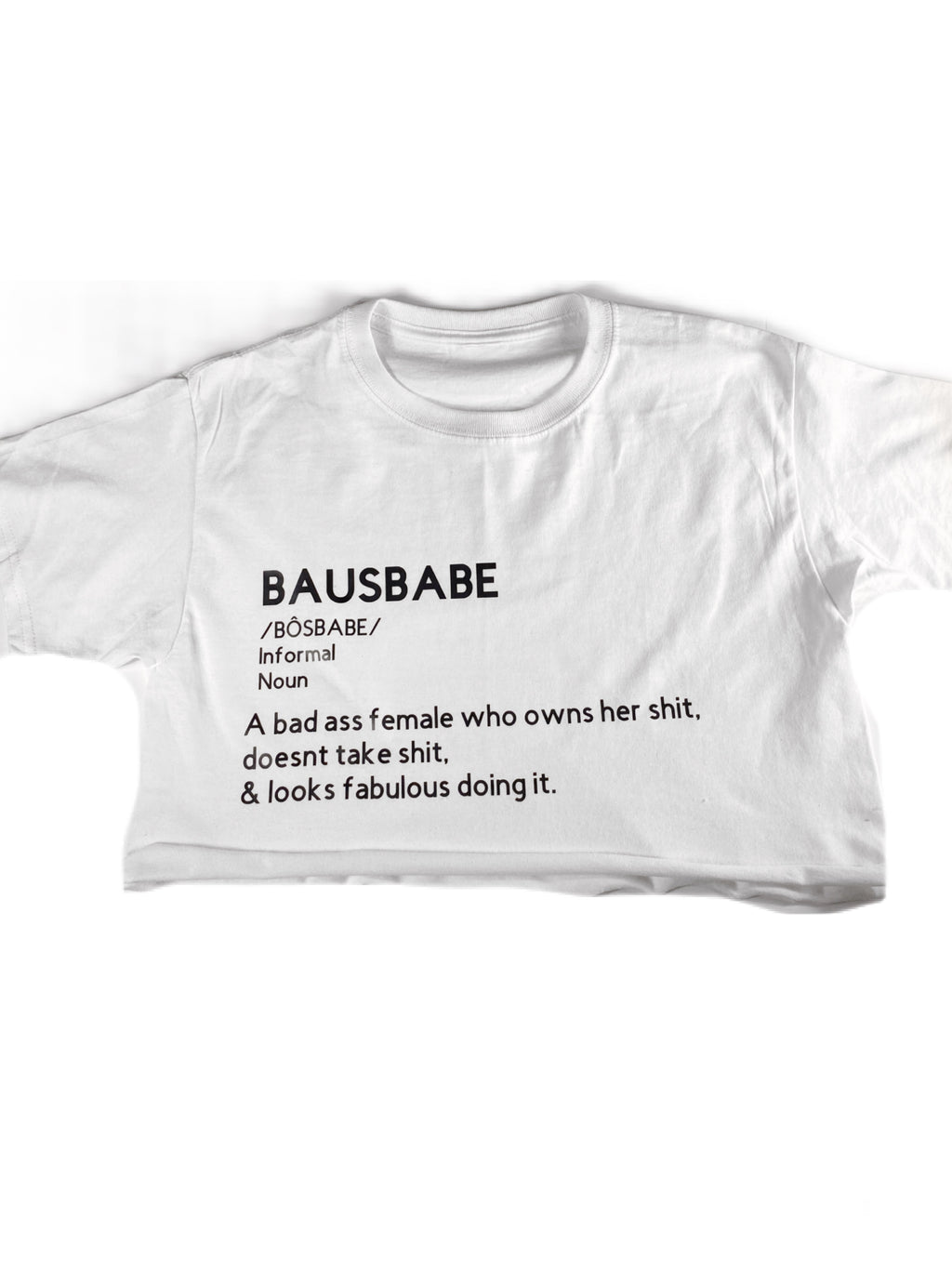 Crop Top- Bausbabe/GirlBaus
