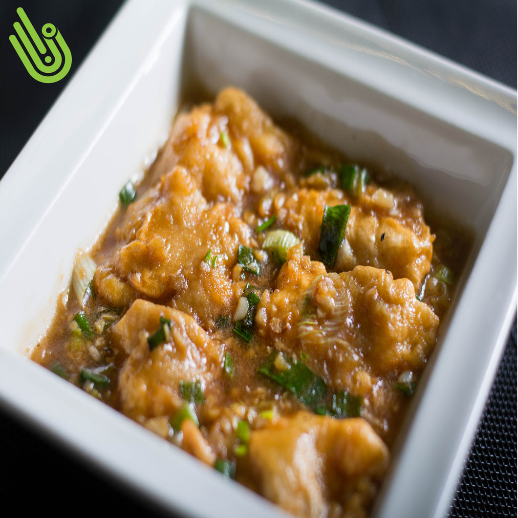 Manchurian Chicken Chinese Sauce منشوريا Al Aktham Restaurant مطعم الاكثم