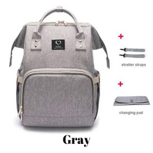 Load image into Gallery viewer, MamaLuv Diaper Bag (Luxurious Edition)