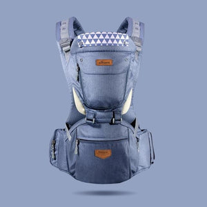 Ergonomic HipSeat Carrier (6 In 1) - Navy Blue