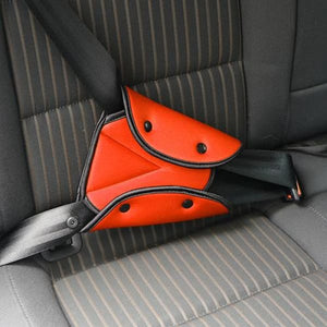 Seat Belt Adjustable Cover - Orange
