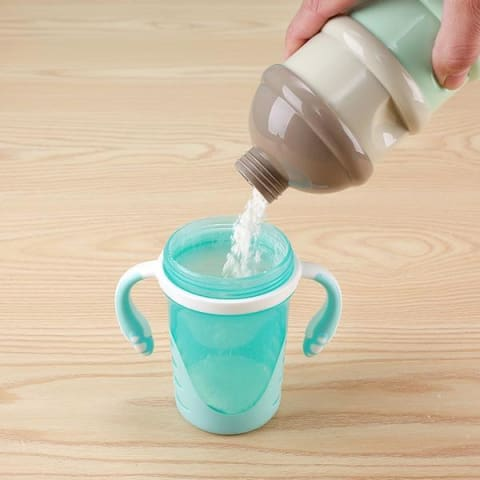 3-Layer Frog Shaped Milk Container