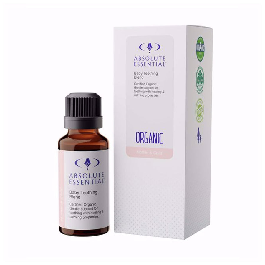 Absolute Essential Organic Baby Teething Blend 25ml