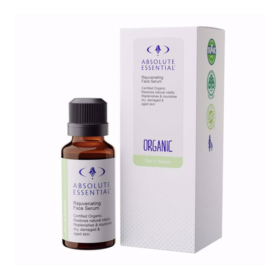 Absolute Essential Organic Rejuvenating Face Serum 25ml