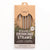 CaliWoods Reusable Drinking Straws 4 Pk + Cleaner