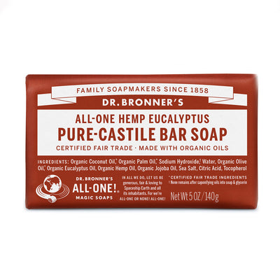 Dr Bronner's Organic Bar Soap