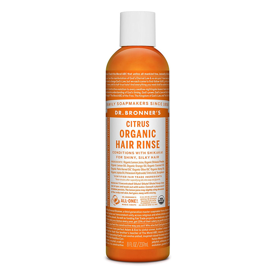 Dr Bronner's Citrus Conditioning Hair Rinse