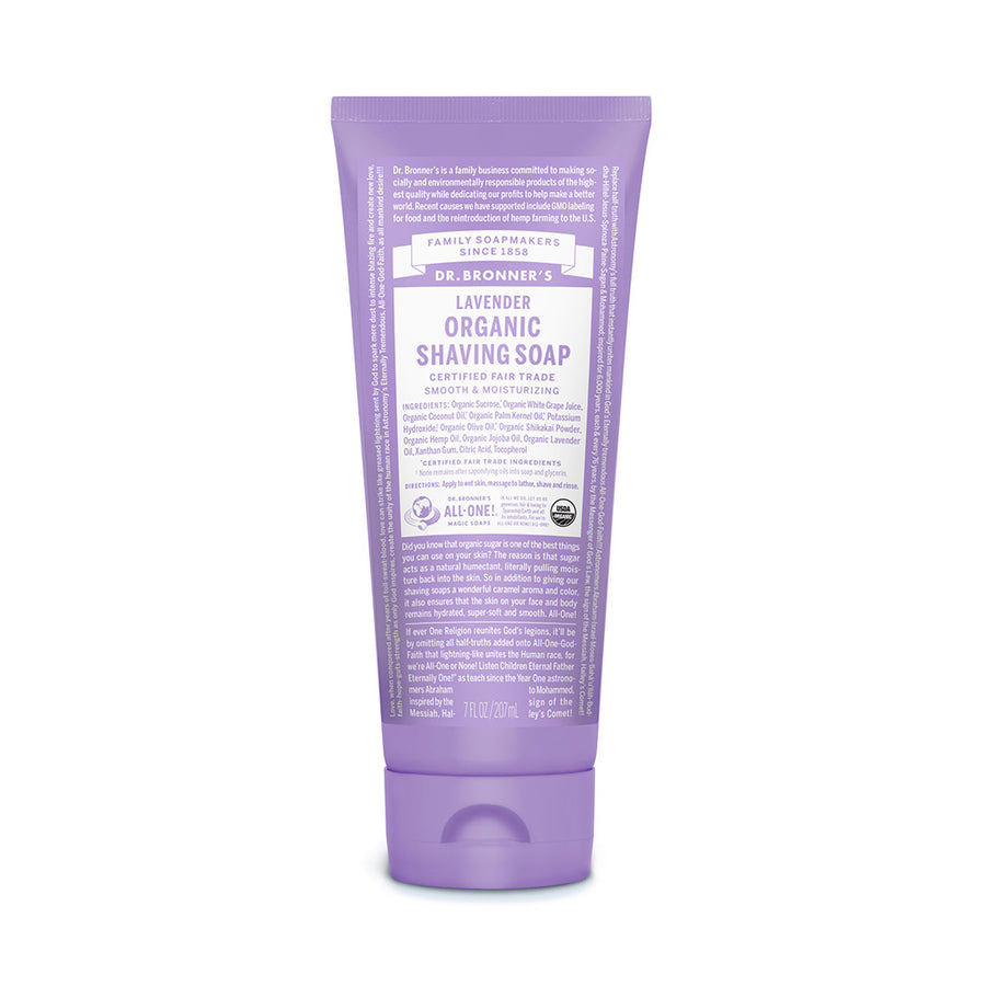 Dr Bronner's Shaving Soap