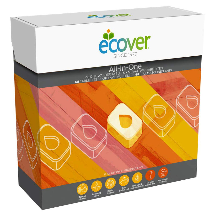 Ecover All-in-One Dishwasher Tablets 400g