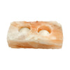 Himalayan Salt Tea Light Holder - 2 Candle