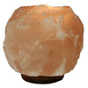 Himalayan Salt Tea Light Holder Natural with Wooden Base