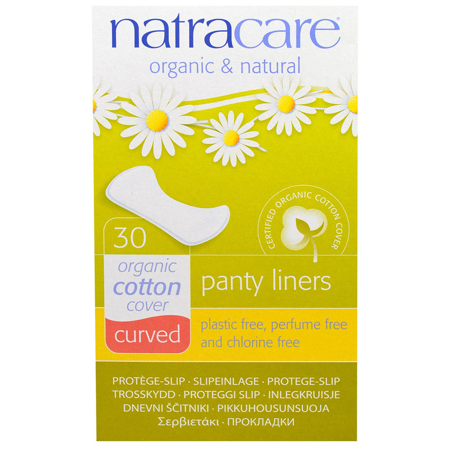 Natracare Natural Panty Liners Curved