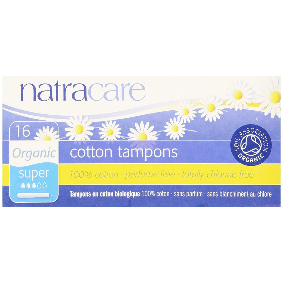 Natracare Tampons With Applicator Super
