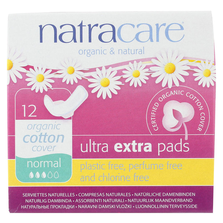Natracare Ultra Extra Pads with Wings Normal
