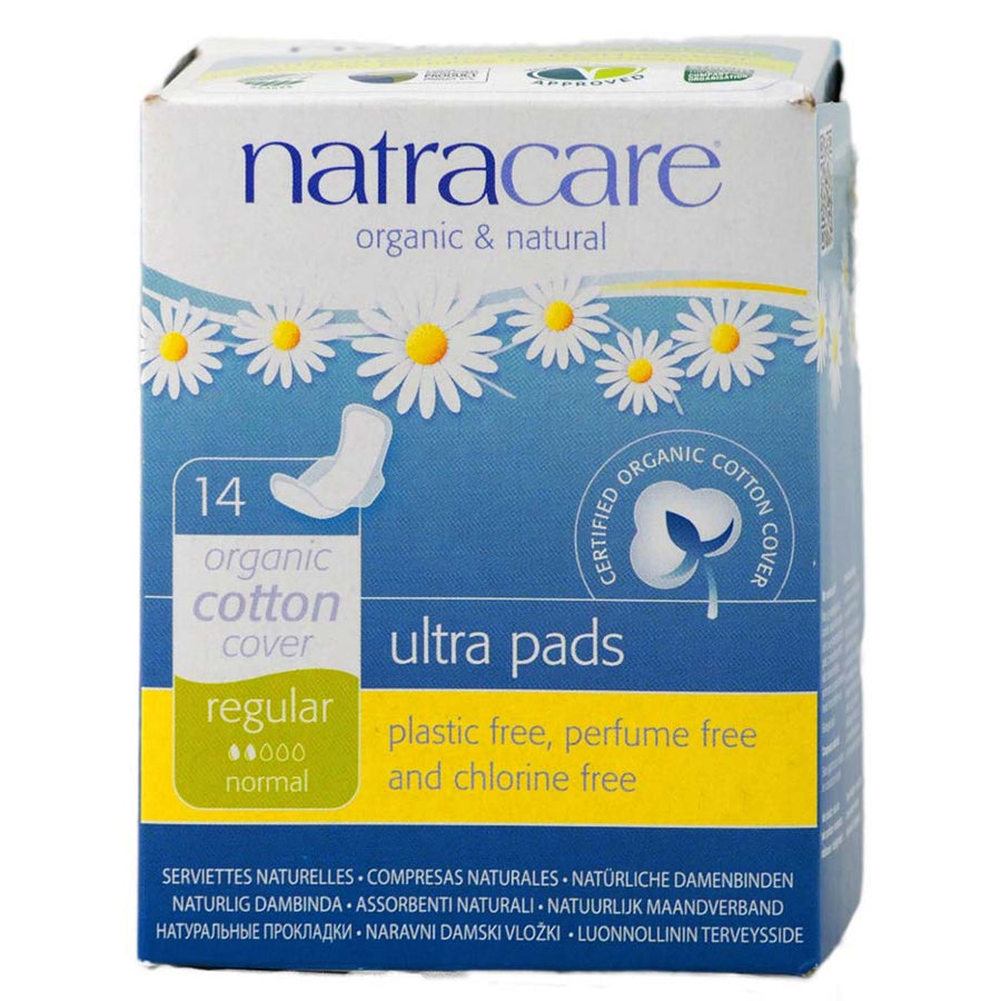 Natracare Ultra Pads with Wings Regular