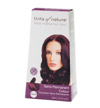 Buy Tints of Nature 5MHR Mahogany Red Semi-Permanent Hair Colour  NZ at Rebalance - 1