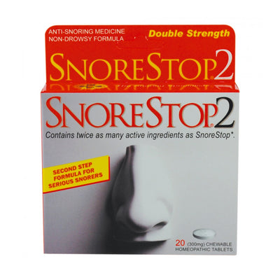 Snore Stop Homeopathic Tablets