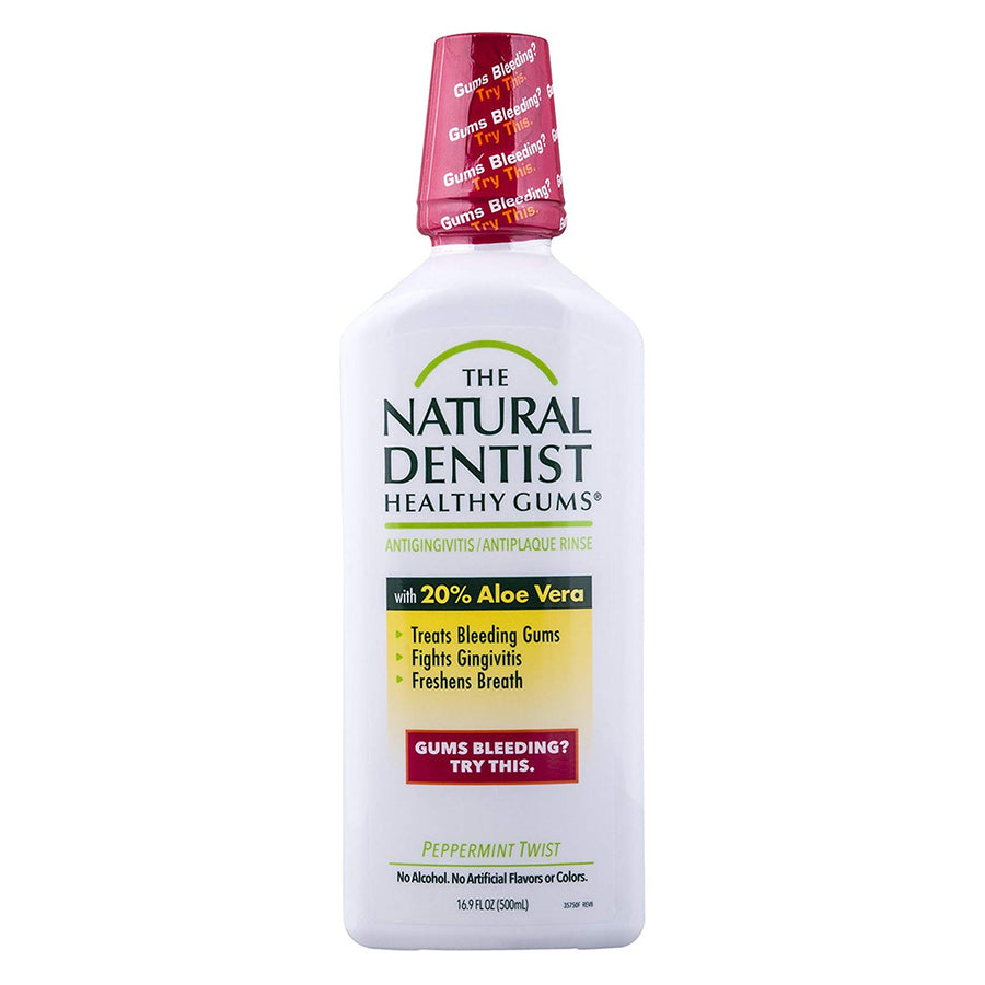 The Natural Dentist Healthy Gums Anti-gingivitis Mouth Rinse