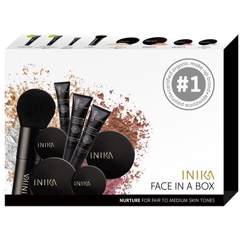 Buy Inika Face In A Box Nurture  NZ at Rebalance - 1