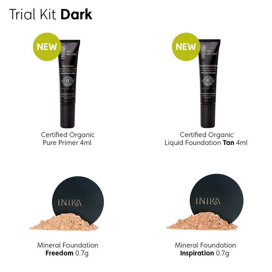 Inika Trial Kit Dark