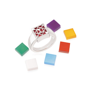 7 Aura Colors Transformable Ring